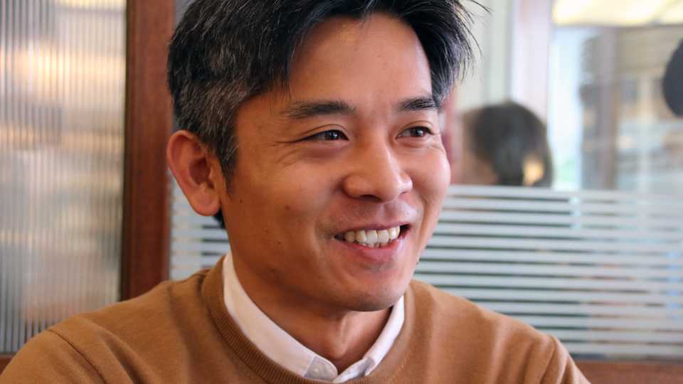 スプライザの代表取締役・土井寛之氏