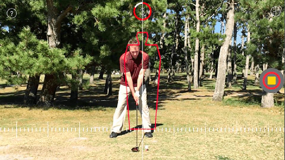 「Clipstro Golf」はゴルフのスイングや弾道の軌跡を可視化する