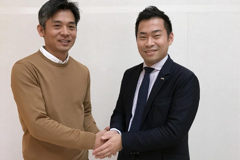 渡辺啓太とスプライザ・スプライザ・土井寛之氏