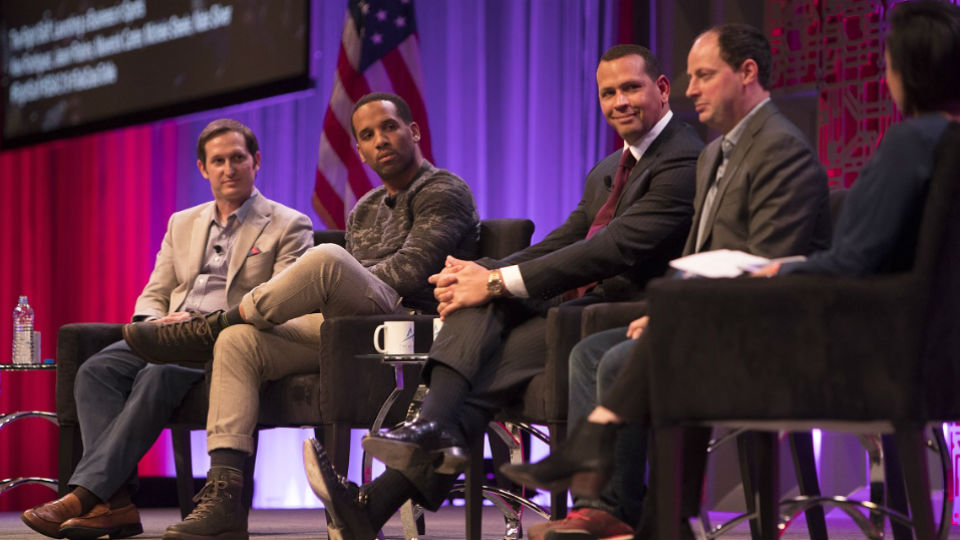 Starting a Biz - Robbins-Carter-ARod-Silver-Steele - ESPN Images Andrew Geraghty