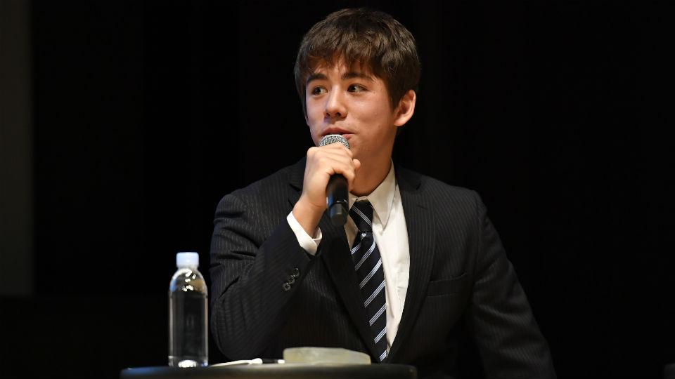 筑波大学蹴球部 パフォーマンス局データ班のスコット・アトム 氏